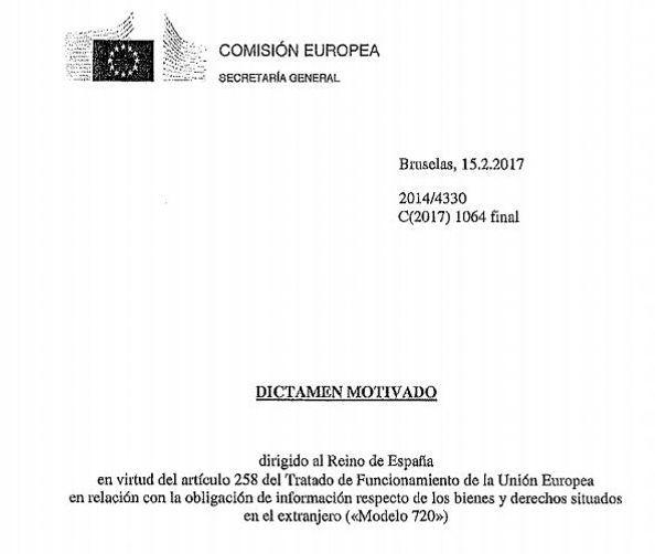 Incompatibilidad de nuestro régimen de declaración de bienes en el extranjero con las libertades comunitarias